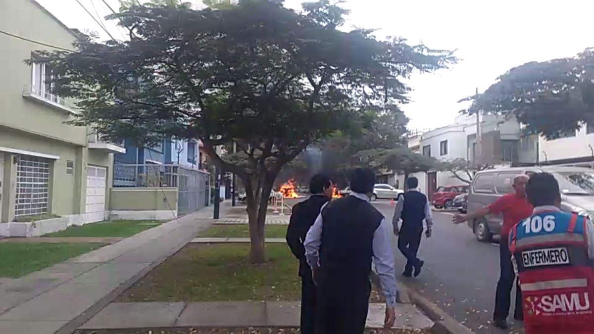 Así se ve la emergencia en San Isidro