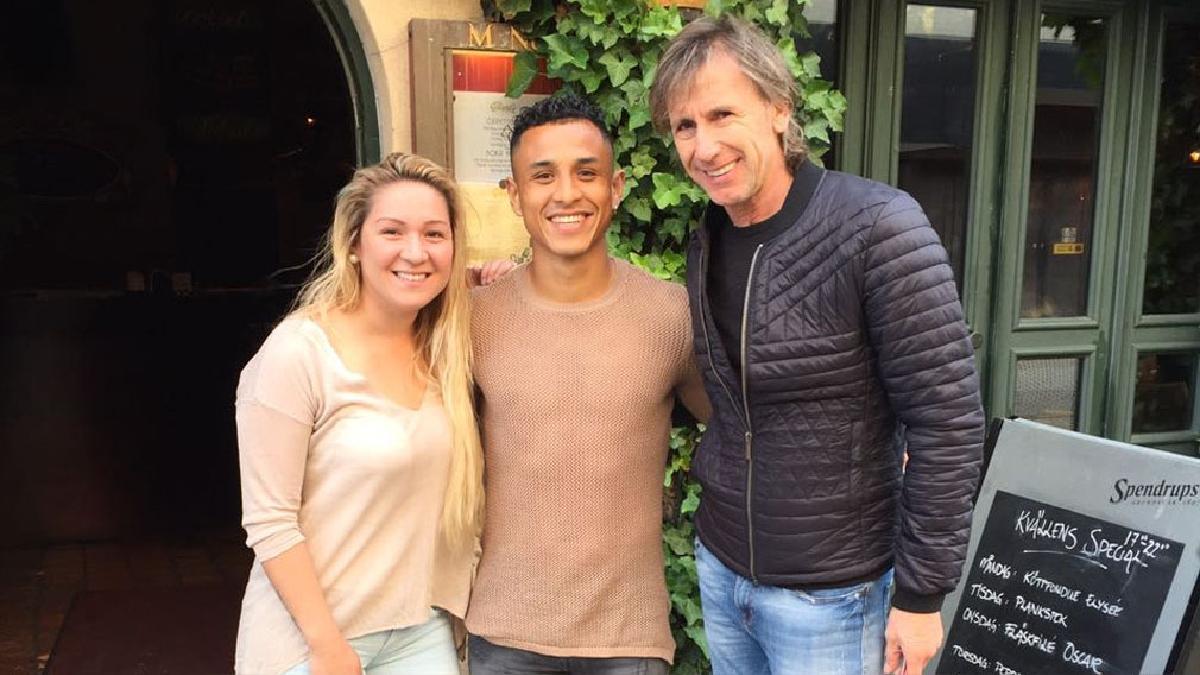 Ricardo Gareca visitó a Yoshimar Yotún. El técnico argentino vio un partido del Malmö y grabó este video.