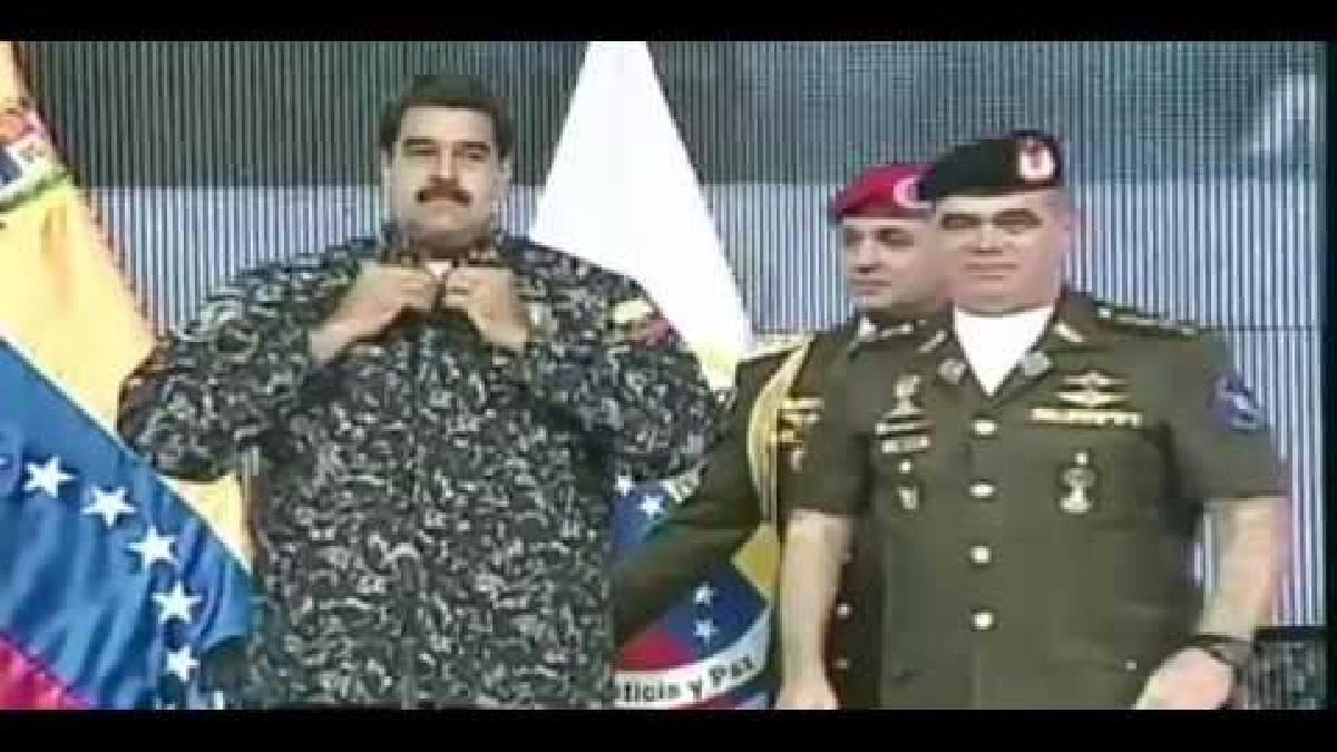 Maduro menciona a Hussein.
