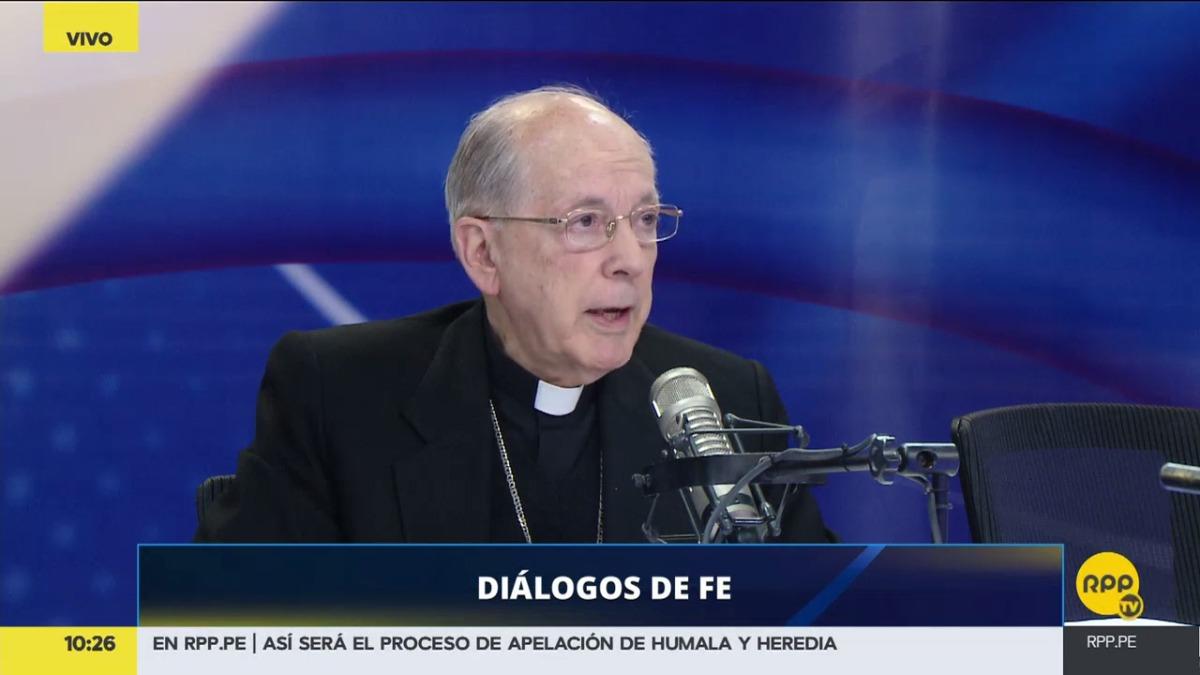 Juan Luis Cipriani habló sobre el expresidente Humala en Diálogo de Fe.