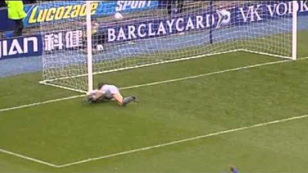 Así fue el gol con el que debutó Wayne Rooney en Everton.