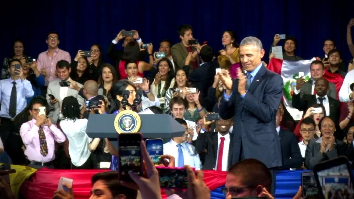 Marcial Rubio sobre la visita de Barack Obama en la Católica.