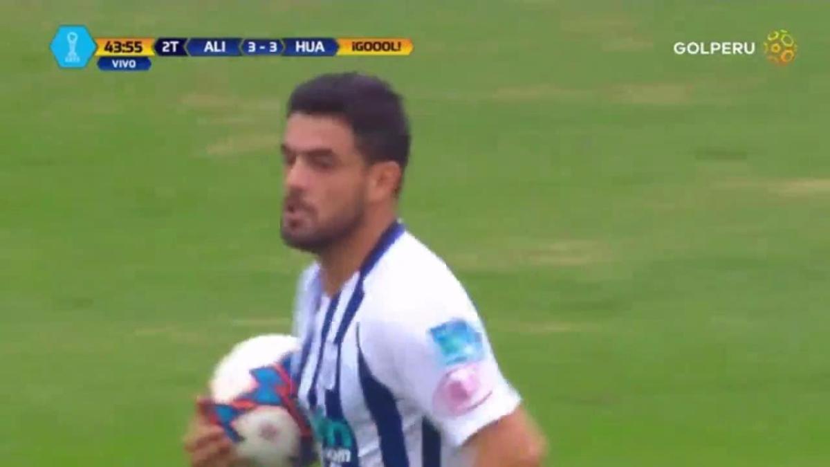 Revisa todos los goles del Alianza Lima 3-3 Sport Huancayo.