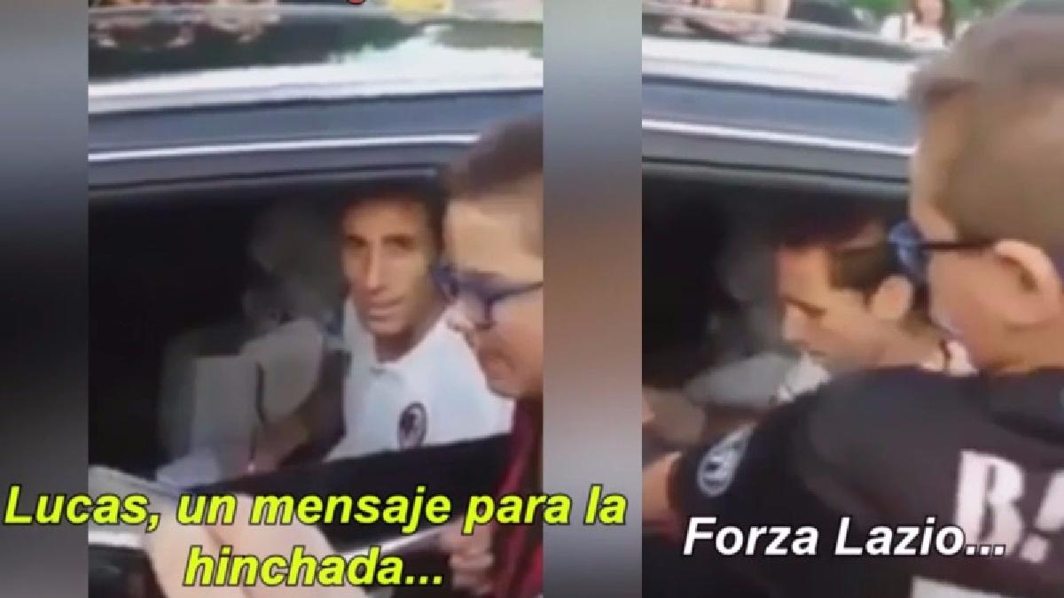 Mira el saludo de Lucas Biglia a la hinchada del AC Milan