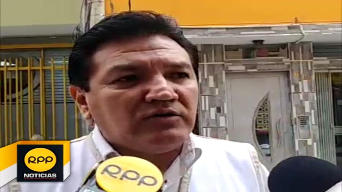 Jefe macroregional de Susalud, Miguel Vela