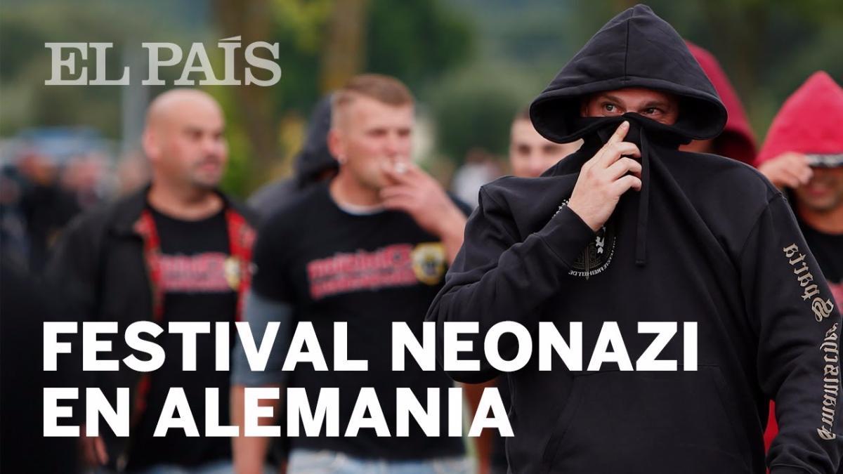 El festival neonazi en Alemania