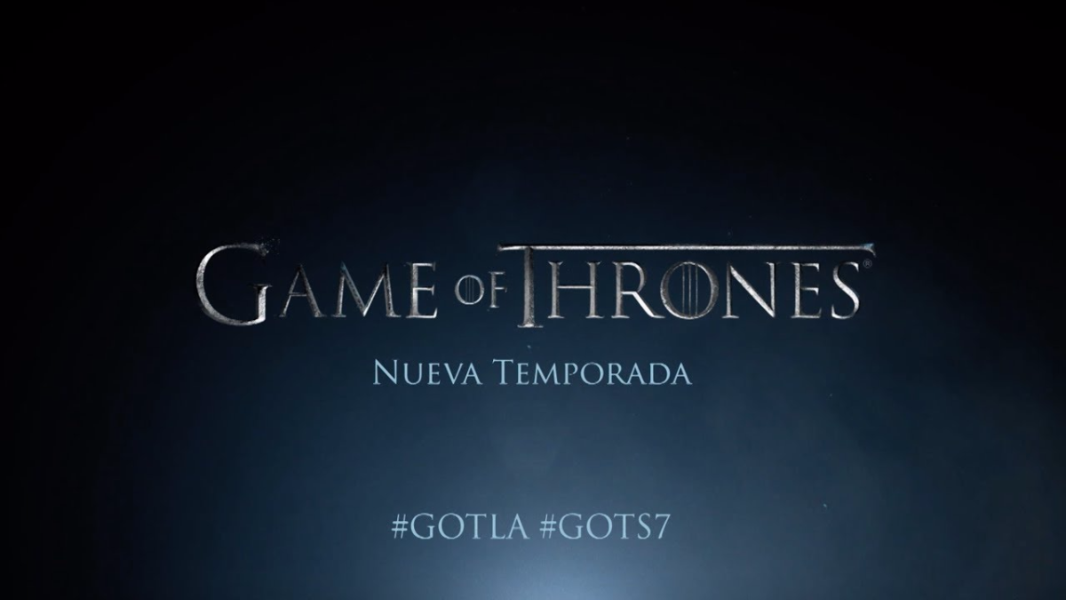 Trailer oficial de GoT para su séptima temporada.