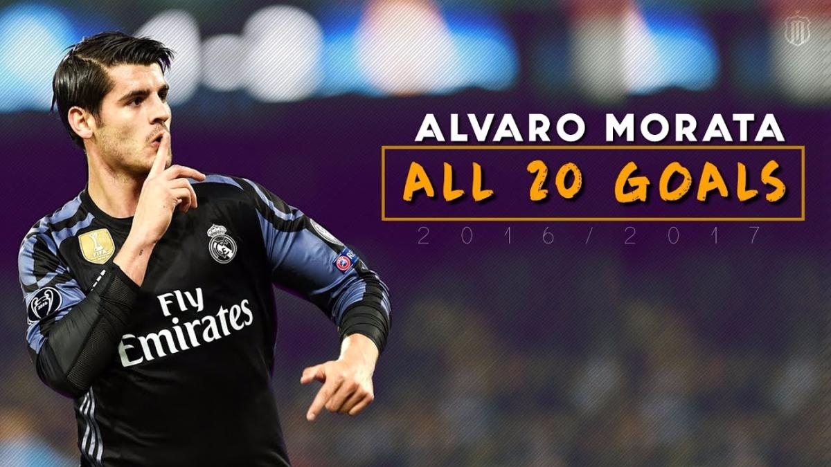 Álvaro Morata se formó en las divisiones menores del Real Madrid.