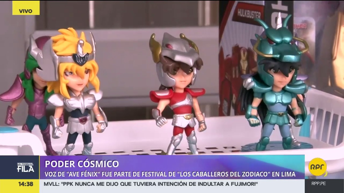 Fan Fest de Caballeros del Zodiaco
