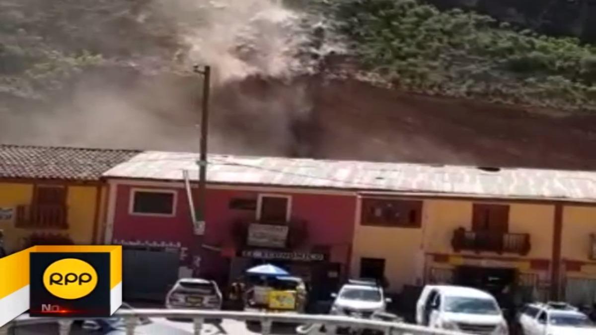 Autoridad regional informó que son unos 150 mil metros cúbicos de tierra que podrían desprenderse generando una emergencia.
