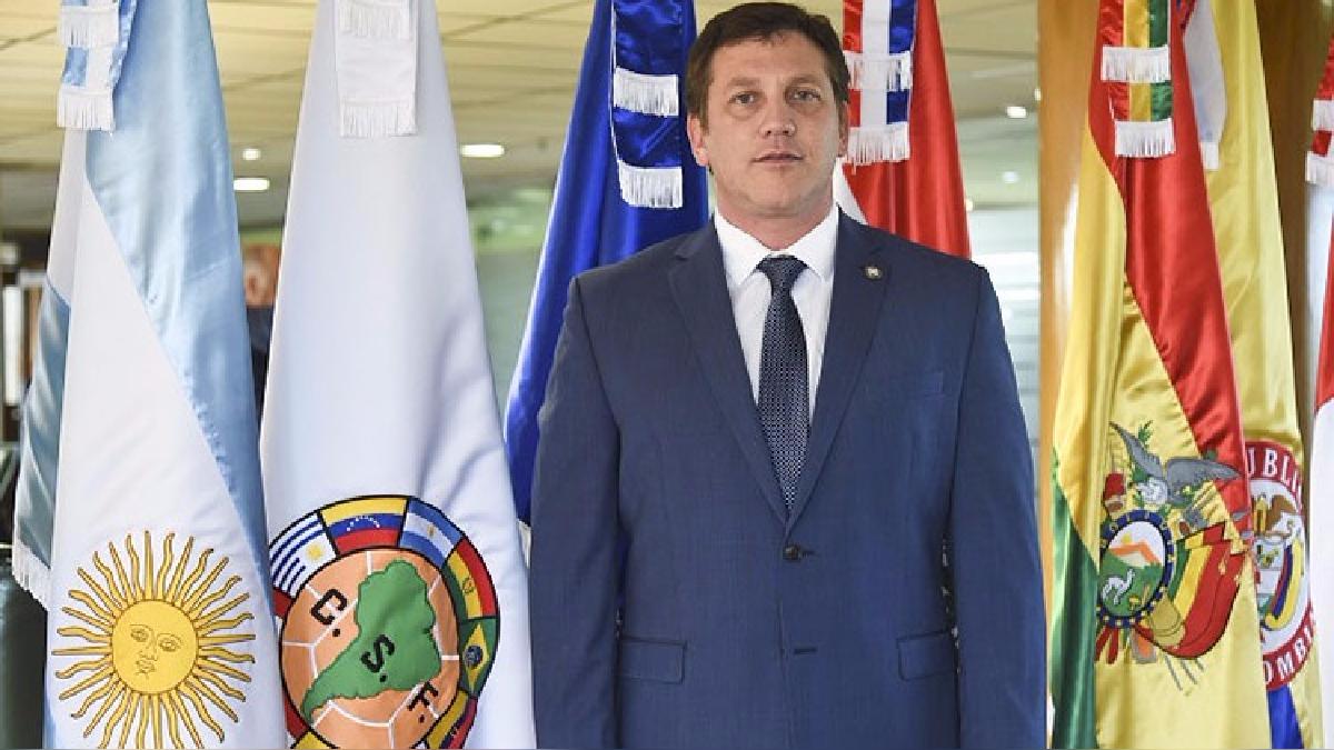 Alejandro Domínguez fue elegido como presidente de la Conmebol en enero del 2016.