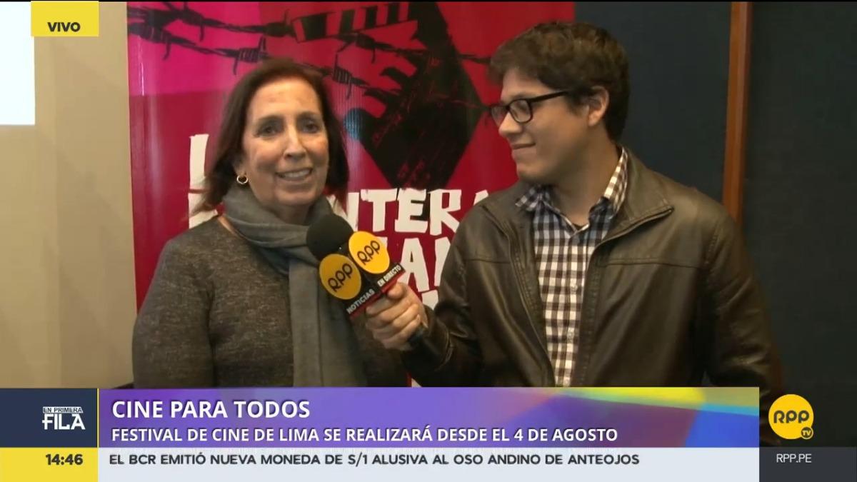 Alicia Morales Dasso, directora del FICL, conversa con RPP Noticias.