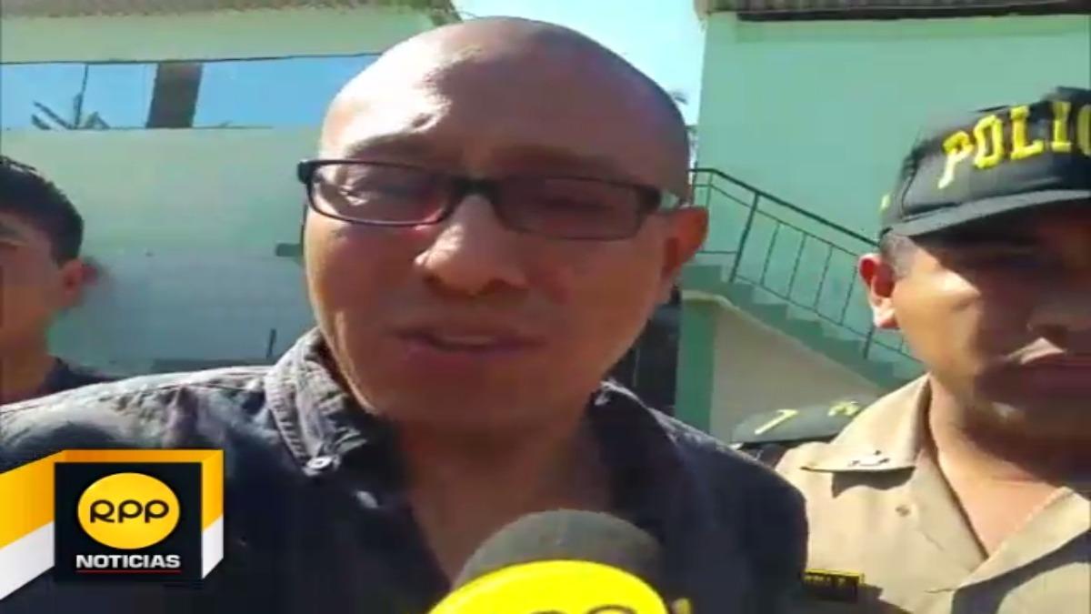 Helard Mitchel Julca García fue trasladado a la División Contra el Crimen Organizado (Divinco)
