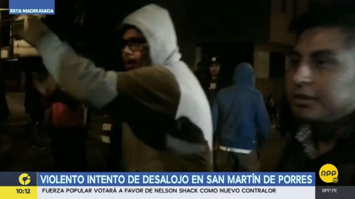 La Policía logró expulsar a los delincuentes contratados que habían desalojado a los ocupantes de la casa.