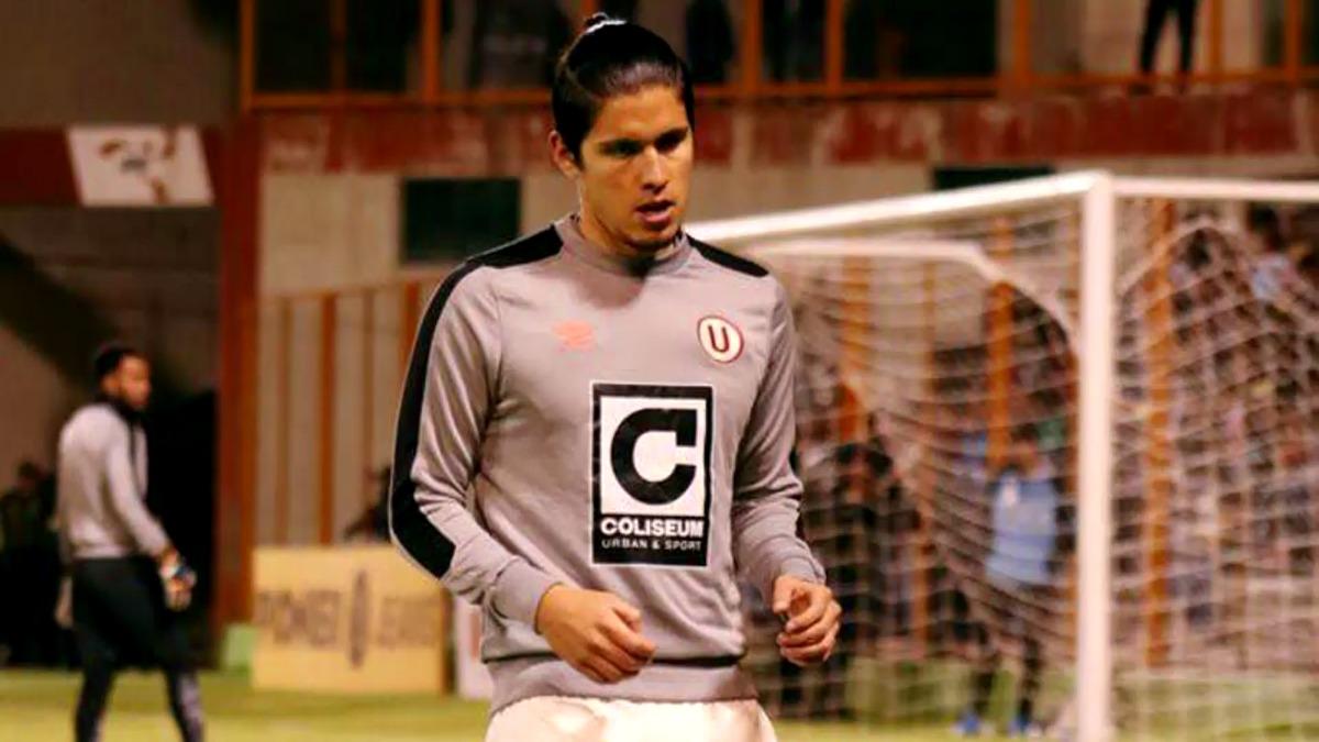 Horacio Benincasa, zaguero central de Universitario de Deportes, estuvo presente en el partido donde empataron 0-0 con Sport Rosario.