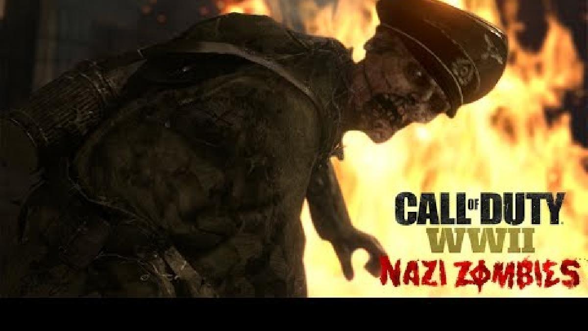 Este es el tráiler de Nazi Zombies de Call of Duty: WWII.