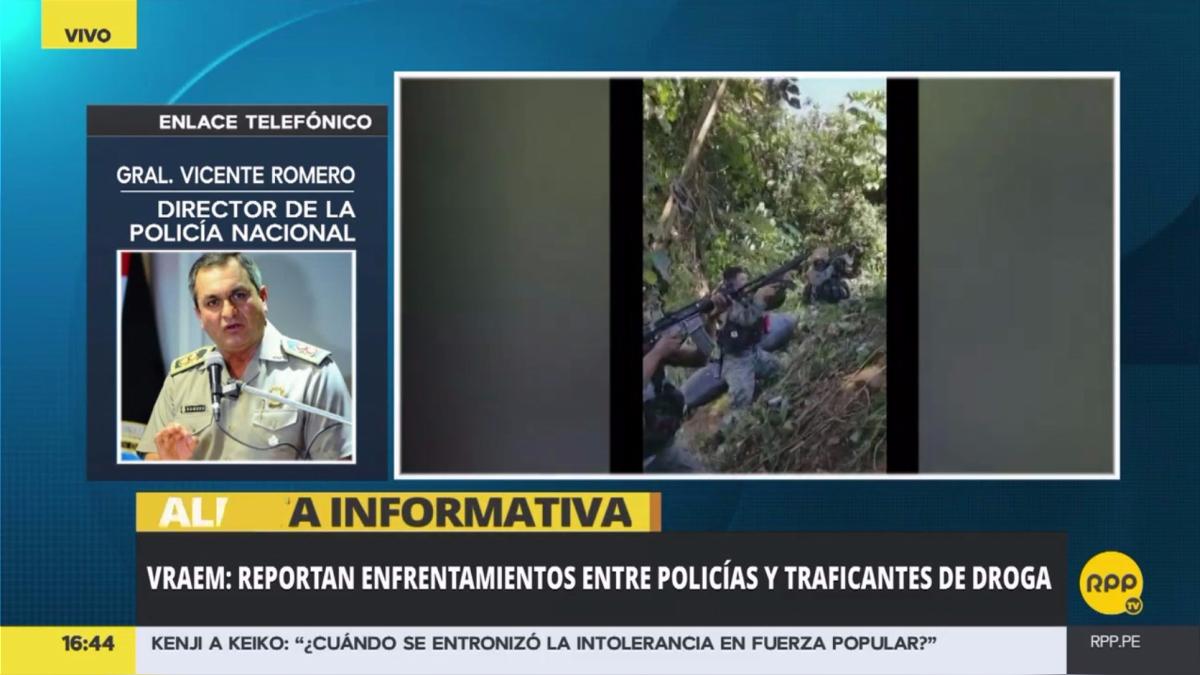 El general Vicente Romero, director de la Policía Nacional, dijo que aún están esperando los últimos reportes.