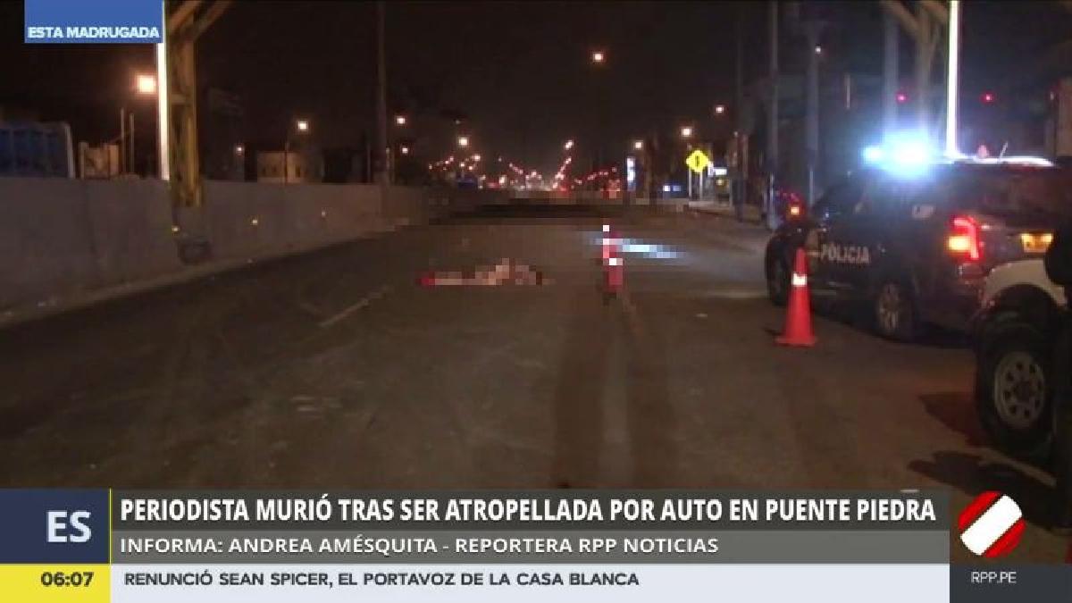 El accidente ocurrió a la altura del kilómetro 31.5 de la Panamericana Norte.
