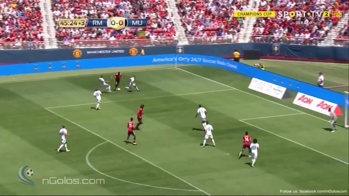 Anthony Martial llegó al Manchester United en la temporada 2015/16 procedente del Mónaco.