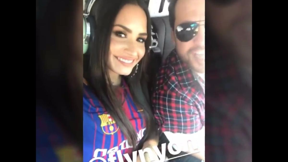 Demi Lovato habría dedicado varios videos al jugador del Barcelona