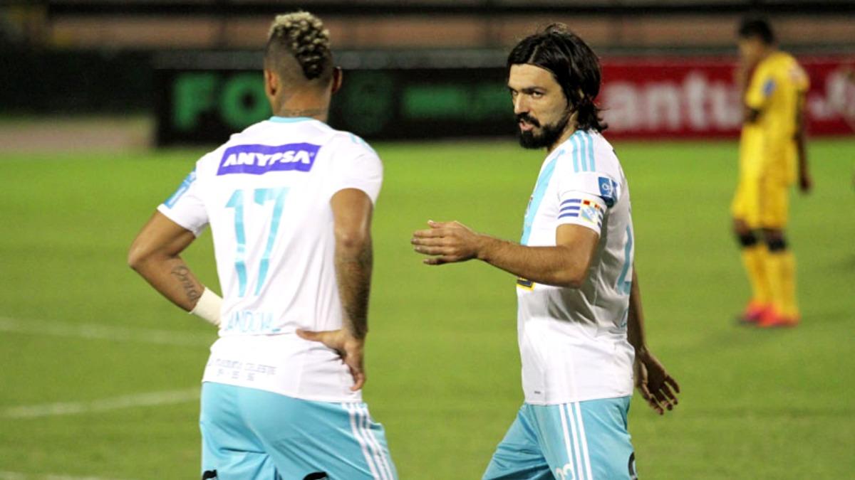 Jorge Cazulo se salvó de no estar presente en el partido ante Universitario de Deportes.