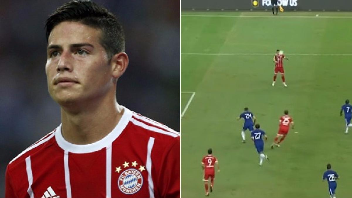 James Rodríguez jugará cedido las dos próximas temporadas en el Bayern Munich, que se reserva una opción de compra del jugador.
