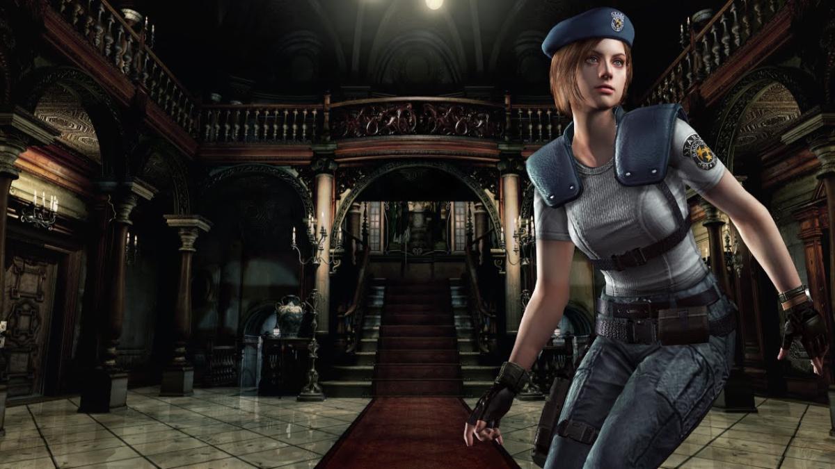 Resident Evil salió en 1996, pero luego Capcom lazó un remake exclusivo para GameCube.