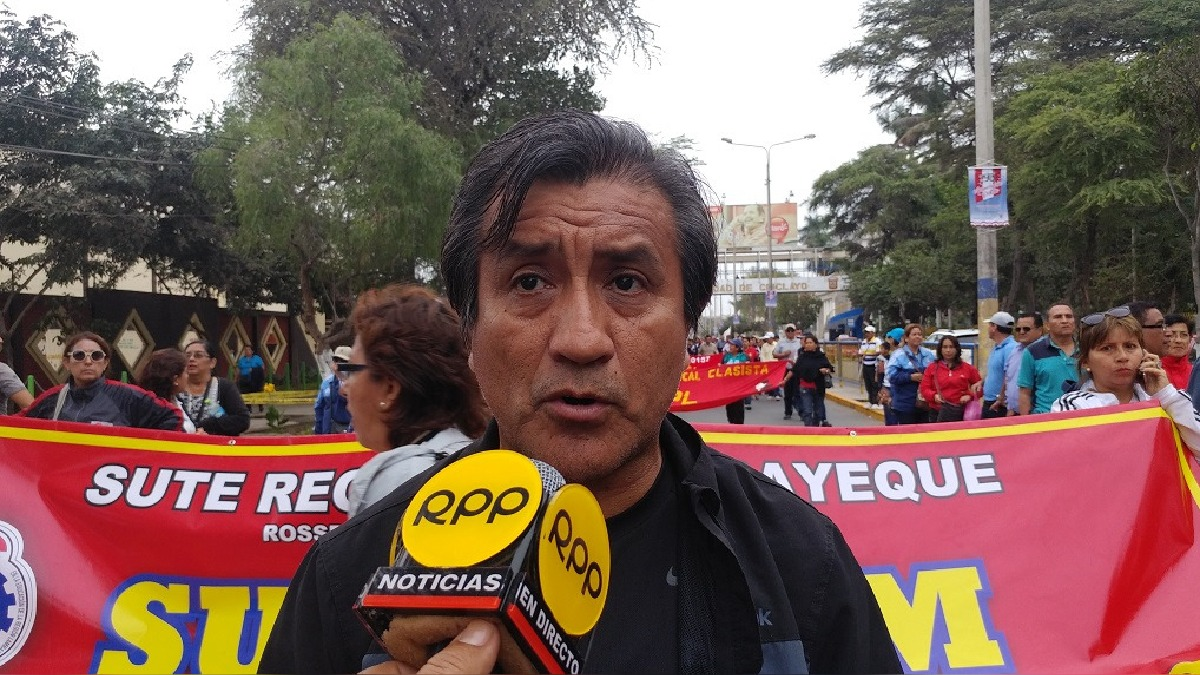 Dirigente de Sute regional de Lambayeque.