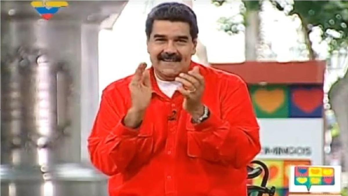 """Maduro dijo que su versión de 'Despacito' fue escrita por """"unos jóvenes""""."""