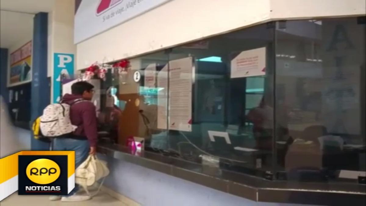 Los ciudadanos acudieron desde temprano a los diversos terminales de Piura.