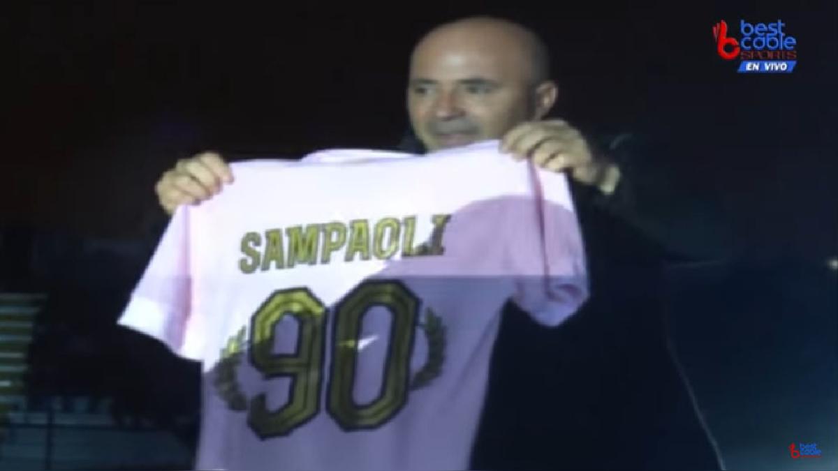 Jorge Sampaoli estuvo en la fiesta por los 90 años de Sport Boys