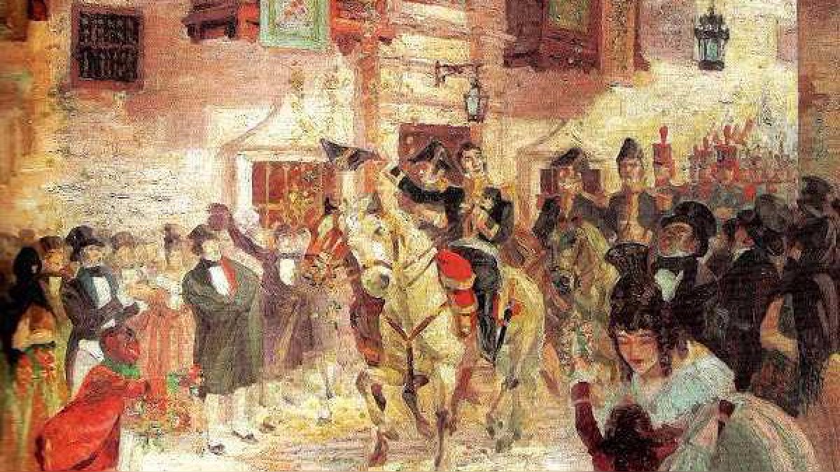 José de San Martín proclamó la independencia del Perú tras establecer diálogos con varias autoridades locales.