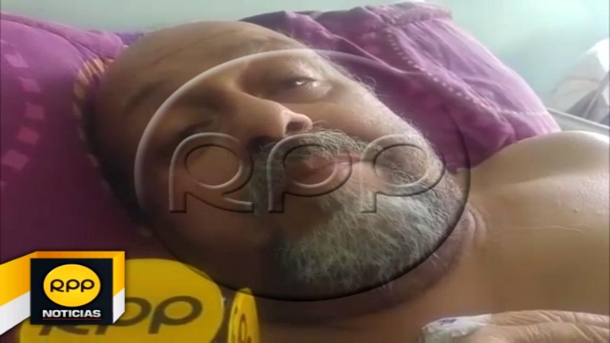 Desde la cama del hospital trujillano, el único hijo vivo del conocido animador Augusto Ferrando, pidió apoyo a sus amigos.