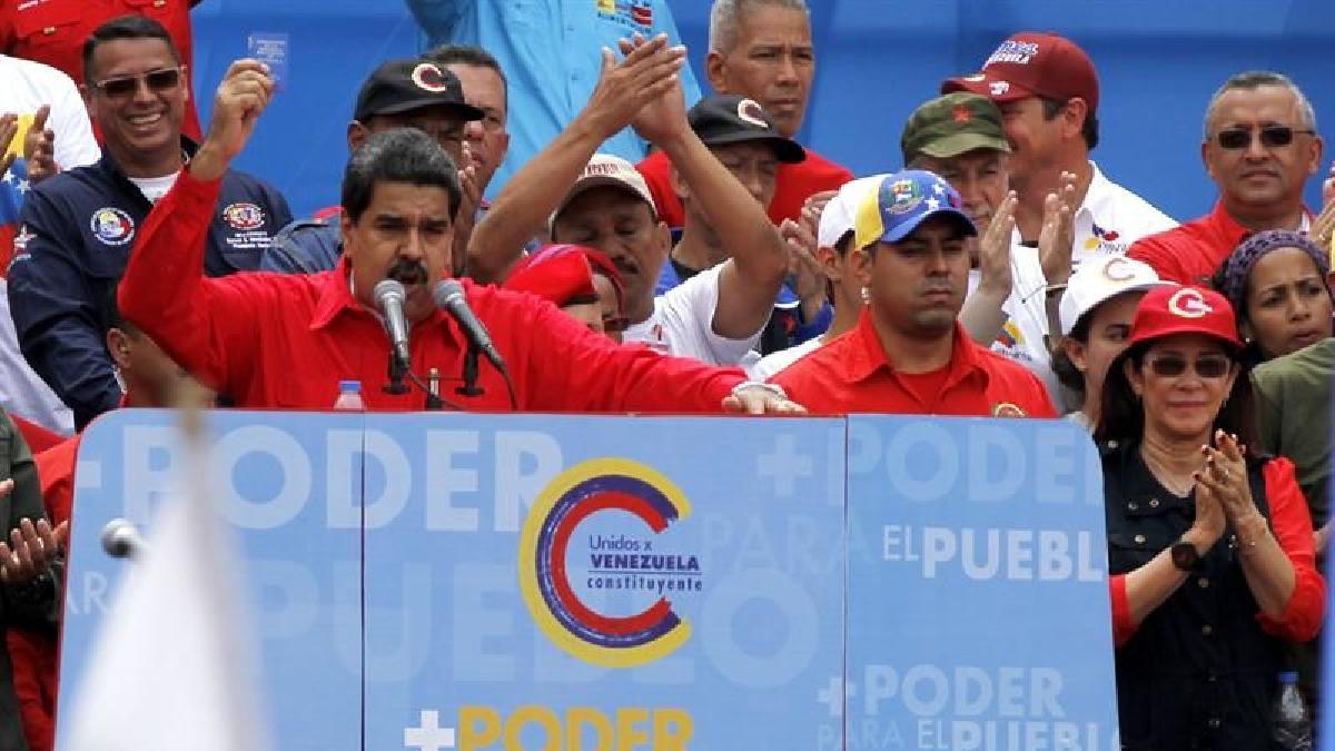 """""""El pueblo los va a castigar con su voto"""", dijo Nicolas Maduro a la oposición venezolana."""