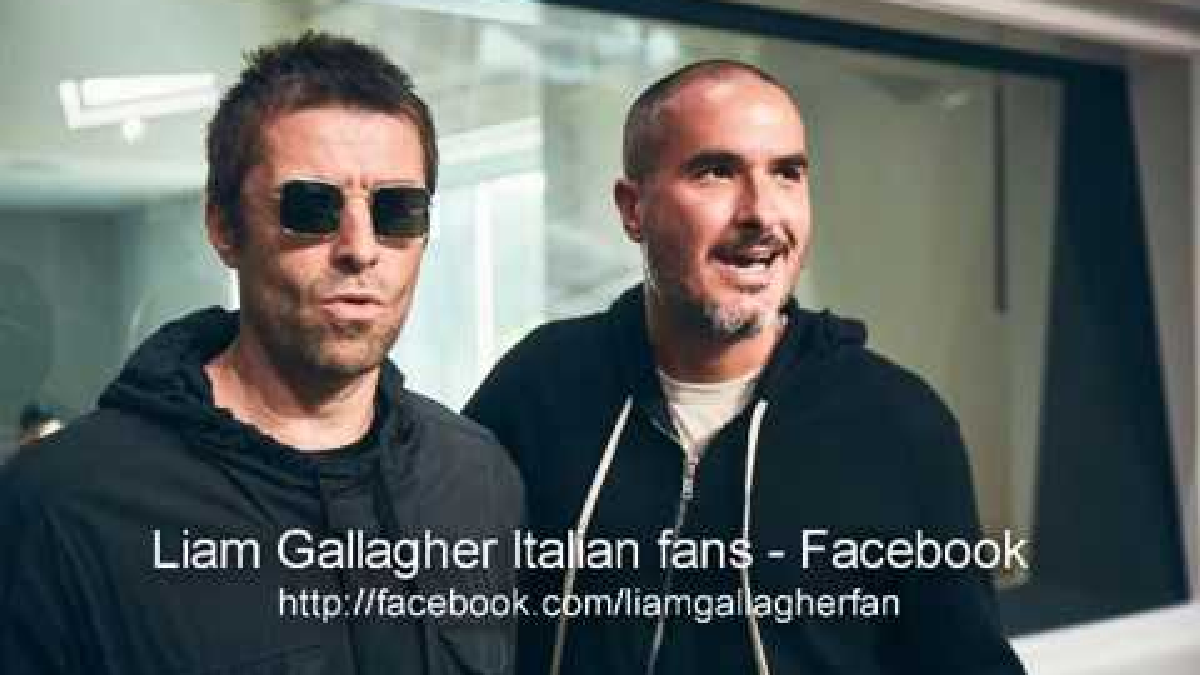 Liam Gallagher en entrevista con Zane Lowe