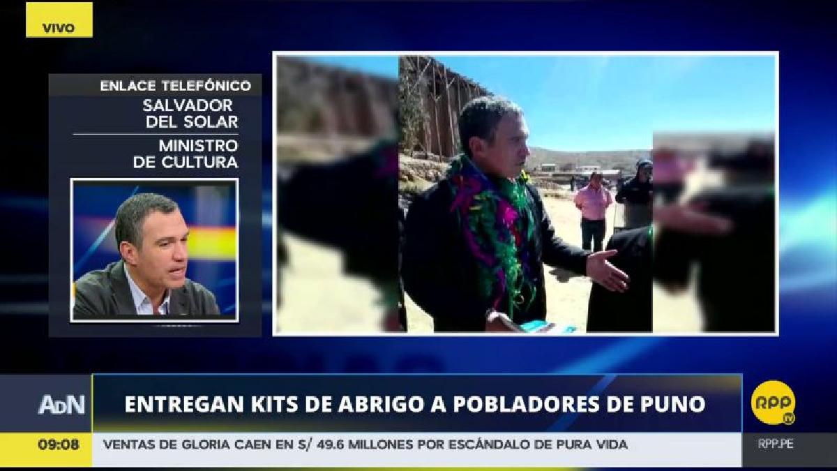 Salvador del Solar habló con RPP Noticias desde Azángaro.