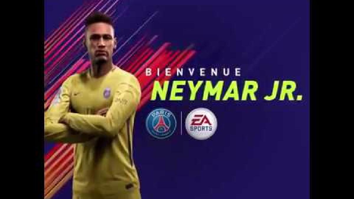 Neymar firmó con el PSG hasta el 2022.