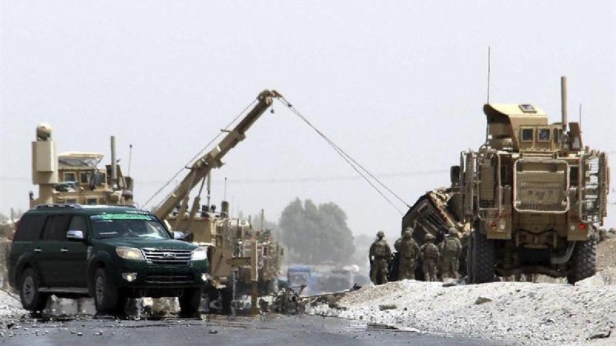 Dos soldados de Estados Unidos murieron en este ataque.