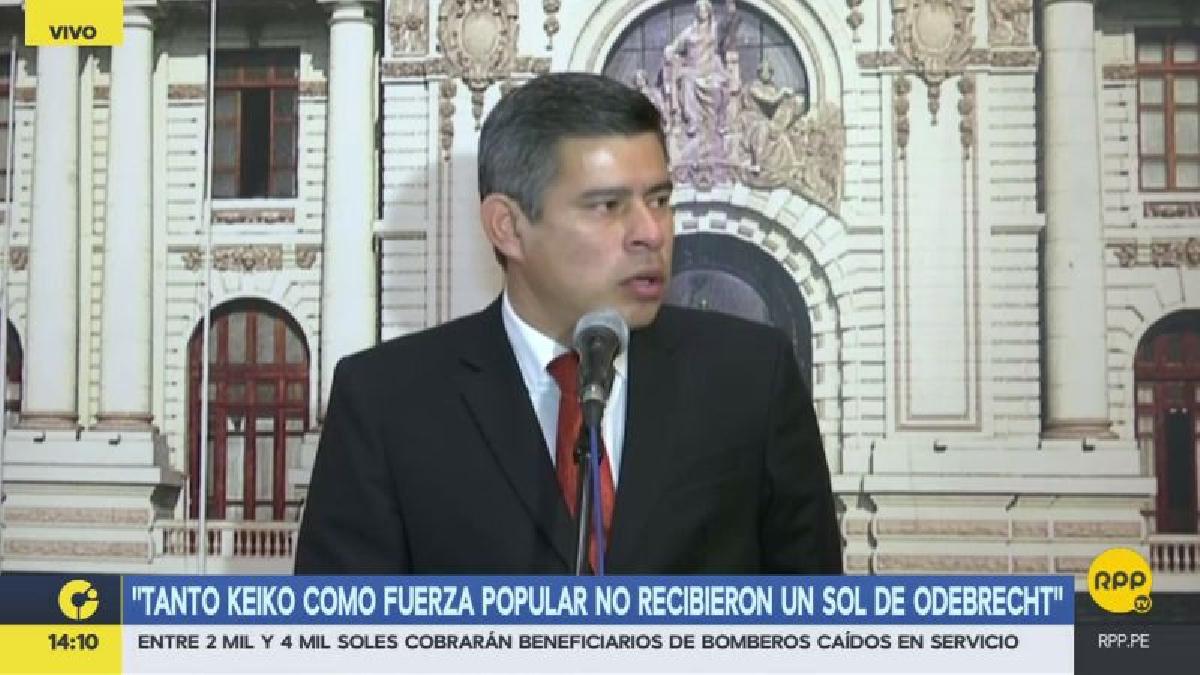 Luis Galarreta dijo que en Venezuela se vive una situación de golpe de Estado.