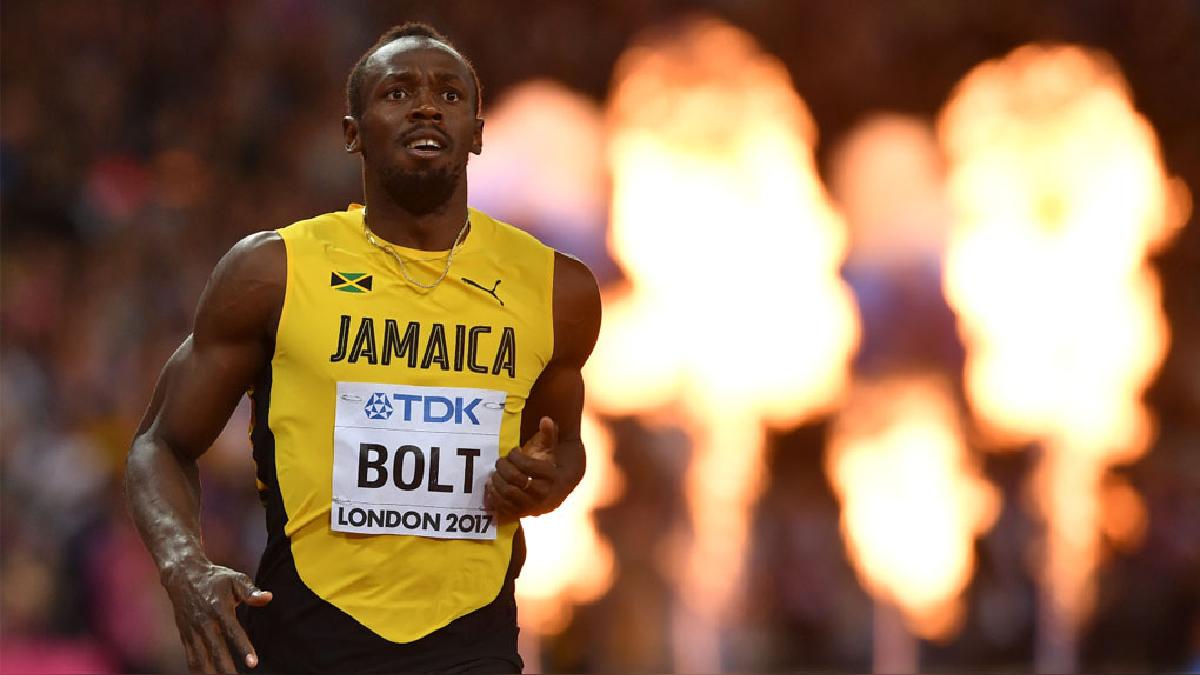 Usain Bolt se colgó la medalla de bronce en sus últimos 100 metros planos.