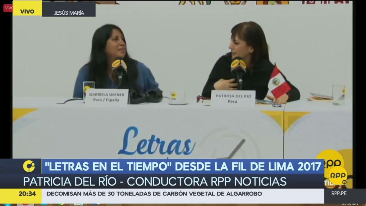 Gabriela Wiener en RPP