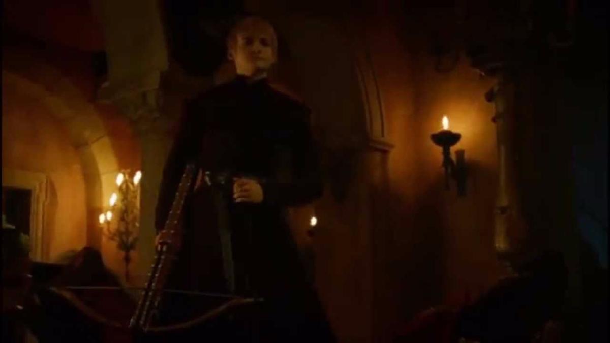 La escena donde Littlefinger dice la frase por primera vez
