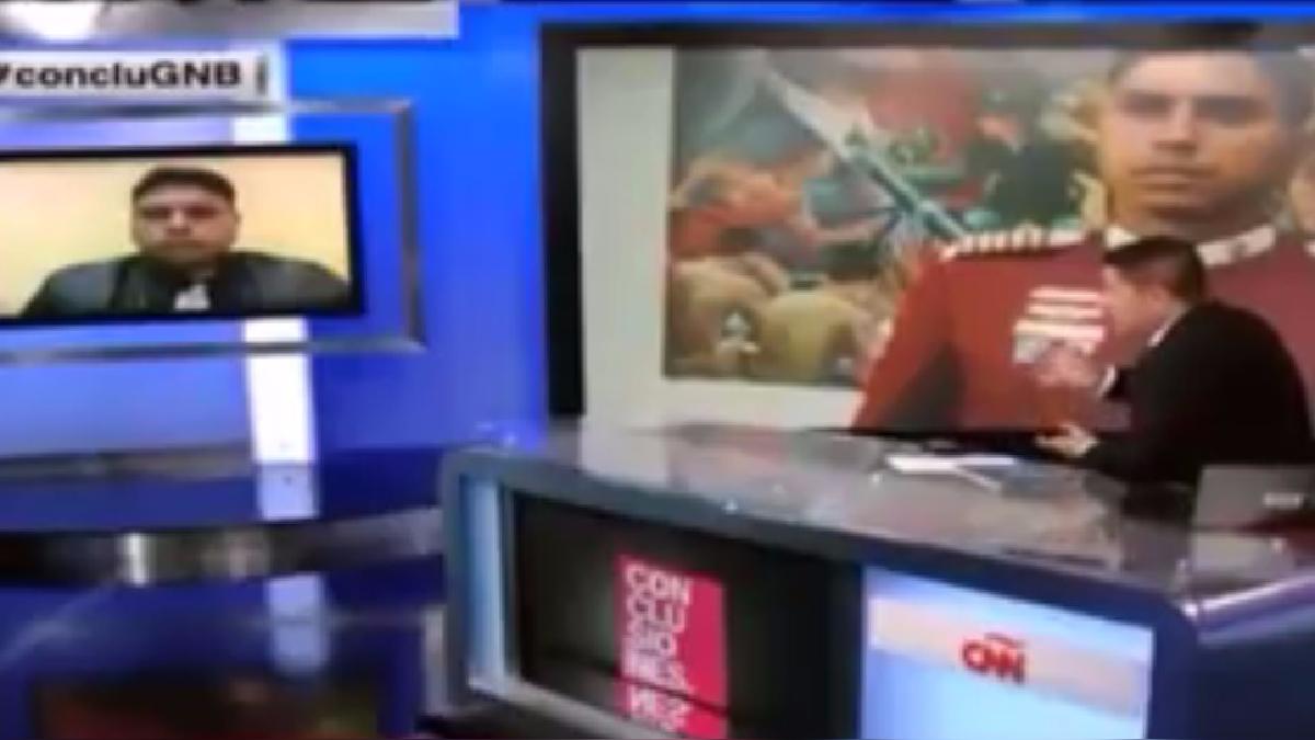La entrevista del excapitán Juan Carlos Caguaripano a CNN en el 2014.