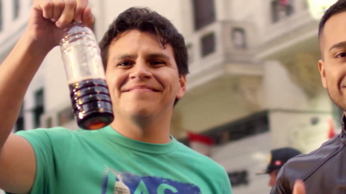 El experimento social busca saber cuán comprometidos están los limeños con la limpieza de su ciudad.