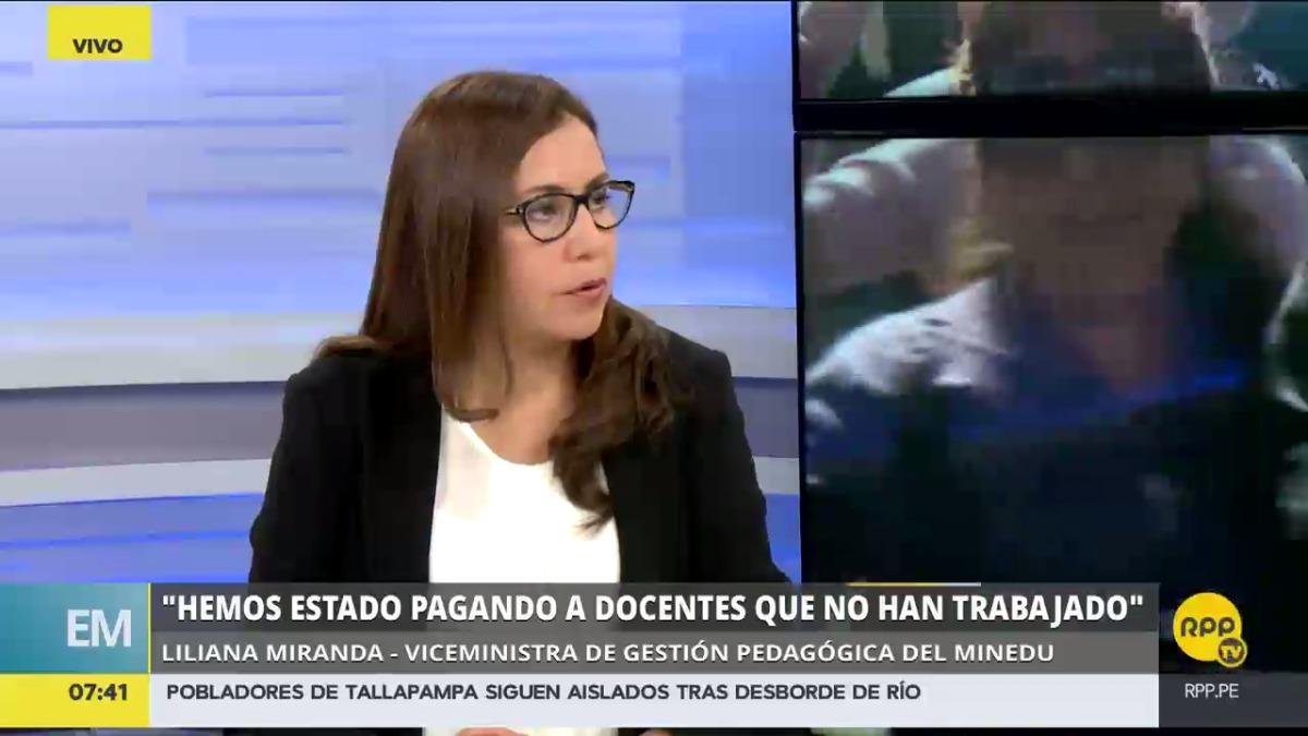 Liliana Miranda dijo que las sanciones se aplicarán a partir de este lunes.