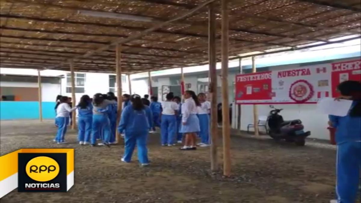 En el colegio San Miguel de 102 aulas solo se dictan clases en 10.