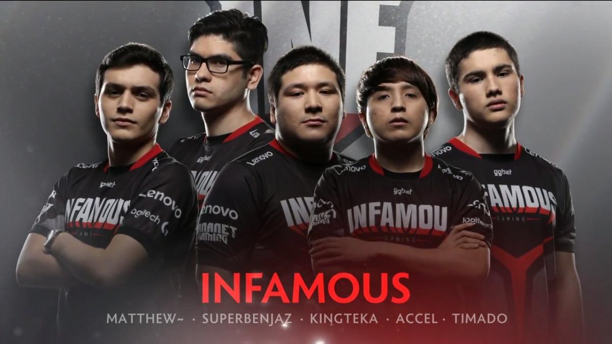 Infamous es el primer equipo latinoamericano en llegar al evento principal de The International.