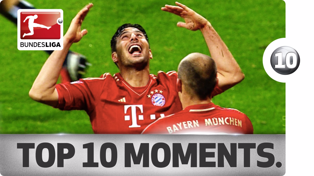 Los 10 mejores goles de Claudio Pizarro en la Bundesliga.