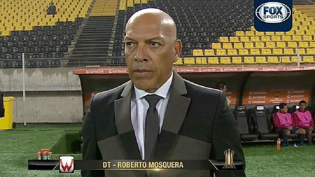 Roberto Mosquera jugará ante River Plate en el mes de septiembre.