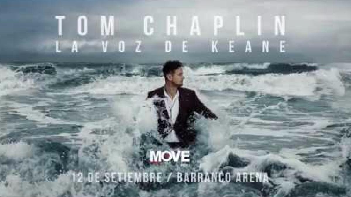 Move Concerts Perú - Tom Chaplin en Lima